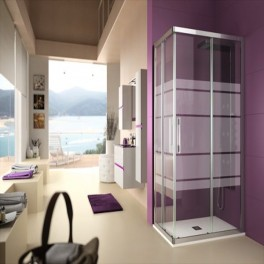 Mampara de ducha Clear rectangular