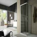 Mampara de ducha Clear angular