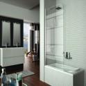 Mampara de bañera Screen