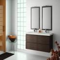 Mueble de baño Minerva 1200 doble
