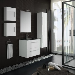 Mueble de baño Creta 600 blanco