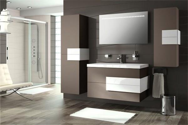 Mueble de baño Cronos 800 moka